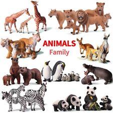 African Animal Simulation Wild Farm Figurines Building Blocks Figures Kids Toys