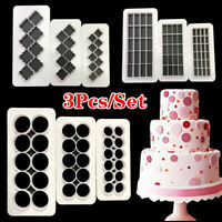 UK Pastry Biscuit Cookie Cutter Plastic DIY Fondant Cake Decor Mold Baking Tool