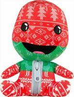 "Stubbins Holiday Sackboy Plush Toy Little Planet 6"" Plush Red/Green/White/Black"