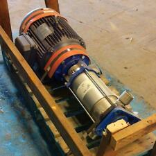 MYERS 6-STAGE PUMP MV16-60S W/ LEESON 15HP MOTOR G150062.00 *PZB*