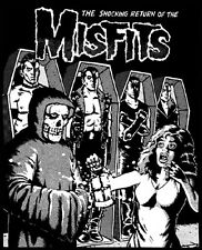 VINTAGE RETURN OF THE MISFITS SHIRT!  RARE HORROR PUNK.  XXL.  I Want Your Skull