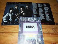 NENA - ? (FRAGEZEICHEN) / HOLLAND-LP 1984 & INLET & 5 PROMO-BLÄTTER