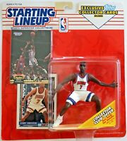 1993 NBA Starting Lineup Kenny Anderson Kenner Figure with Topps Collector Cards