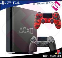 DAYS OF PLAY PS4 1TB 2019 PLAYSTATION 4 + MANDO DUALSHOCK ROJO CAMUFLAJE SONY