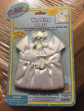 Webkinz Clothing Wedding Dress With Online Code From Ganz Plush