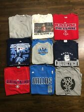 Vintage Lot of 9 T Shirt Sz Xl Vtg Sports Nba Nike Nfl Basketball Football Tees