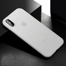 For iPhone X / XR / XS Max Transparent Matte Shockproof Case Cover Protector