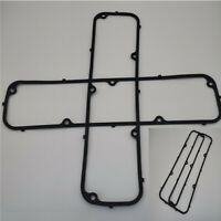 2x Engine Steel Core Rubber Valve Cover Gasket For FORD 352 360 390 406 427 428