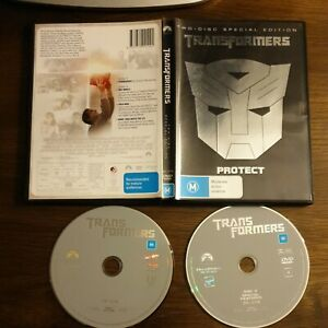 TRANSFORMERS - The Movie (2007) DVD 2-DISCS Special Edition R4 free post