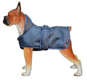 Dog Coat Jacket Winter Waterproof Pet Clothing Vest Pug Puppy Navy