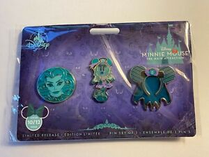 Disney Minnie Mouse Main Attraction Haunted Mansion Pins, Set 10 of 12 In Hand!