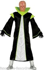 Da Uomo Alieno Spazio Halloween Natale Fancy Dress Costume Vestito Taglia Large