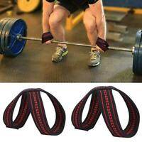 New Figure 8 Weight Lifting Straps DeadLift Wrist Strap for Pull-ups