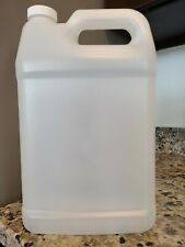 1 Gallon Jugs Hdpe - 128 fl. oz. - a lot of 8 bottles