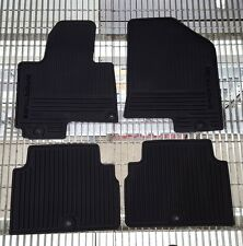 NEW OEM 2014-2016 KIA SPORTAGE 4PC ALL WEATHER FLOOR MAT SET - BLACK