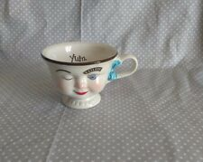 VTG Baileys Irish Cream Yum Winking Face Lady Cup Mug