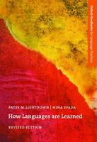 How Languages Are Learned Paperback Patsy M. Lightbown