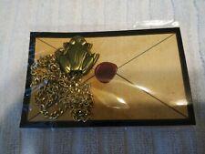 Harry Potter Frog  Acceptance Letter Necklace, Wizarding World, Geek Gear,