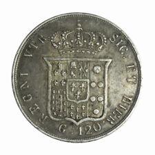 REGNO DELLE DUE SICILIE - Ferdinando II di Borbone 120 grana 1857 variante rara
