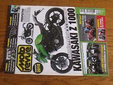 $$$ Moto Revue N°3859 Kawasaki Z 1000MotoGP StonerBimotaMecanique