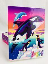 Vintage Lisa Frank Max Splash Penguin Killer Orca Whale Gift Box FREE SH