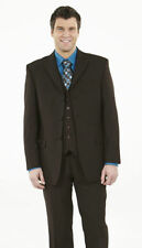 Wool Blend Patternless Suit Jackets for Men
