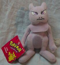 """HASBRO 1998 Nintendo Pokemon #150 MEWTWO 6"""" Plush STUFFED ANIMAL Toy NEW"""
