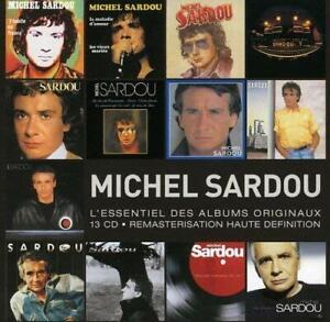Coffret Michel Sardou 13 CD L'Essentiel Des Albums Originaux Remasterisation HD