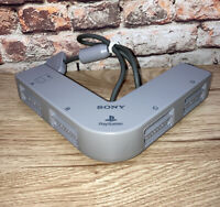 SONY PLAYSTATION ONE PS1 OFFICIAL WIRED GREY MULTITAP ( MULTI TAP ) SCPH-1070