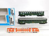 CO582-0,5# 2x Märklin H0/AC 4138 D-Zug-Wagen/Personenwagen 8901 SBB sehr gut+OVP