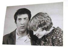 "1969 KEN REGAN Dustin Hoffman/Mia Farrow PORTRAIT 14"" x 9 3/4"" PHOTO John & Mary"
