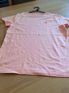 boys clothes 11 years Next Orange Cotton Speckled T-Shirt Top