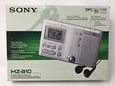 Sony MZ-B10 Portable Business MiniDisc Recorder & Player Walkman. w/ Mic