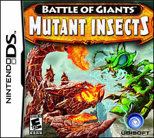 Battle of Giants Mutant Insects Game Nintendo DS 2010