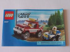 LEGO ® Recipe/instruction n. 4437