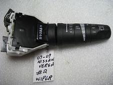 WIPER WASHER SWITCH #2 WITH ADJUSTABLE INTERMITTENT 2007 - 2009 NISSAN VERSA
