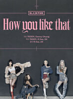 BLACKPINK [ How You Like That ] Special Edition Album PreOrder CD+Booklet+Poster