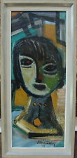 Louis Zelig 1922-1993, Komposition mit Statue, datiert 1959