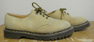 Dr Martens 4 Eye Gibson Men's 7 Lace Up Oxford 1561 / 59 Tan Leather Airwair