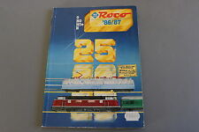 X298 ROCO Train miniature catalogue O Ho Hoe N 1986 1987 244 pages 29,5*21,5 cm