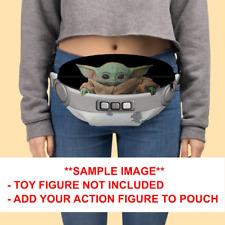 Baby Yoda Pod Fanny Pack The Child Floating Crib Waist Bag Mandalorian
