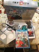 Pre Owned Infinit Wii U Disney Sulley, Jack Sparrow, Mr. Incredible Starter Pack