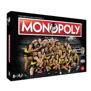 RICHMOND MONOPOLY 2020 AFL PREMIERS LIMITED EDITION COLLECTORS