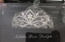 Nikita Rose Design Tiara Brand New In Box (Wedding Or Prom)