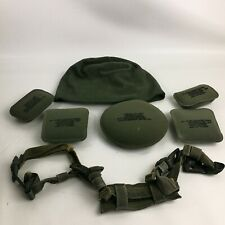"7 Pieces Helmet Advanced Combat Circular Crown Pads Size 3/4"" With Cap"