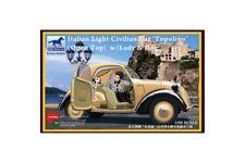 BRONCO CB35165 1/35 Italian Light Civilian Car (Open Top) w/Lady & Dog