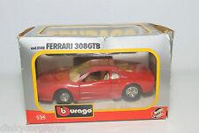 BBURAGO BURAGO 148 FERRARI 308GTB 308 GTB RED MINT BOXED