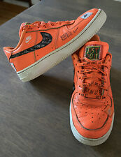 Limited Edition Nike Air Force One Premium Just Do It Prm Jdi Low Size 5.5Y