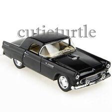 Kinsmart 1955 Ford Thunderbird 1:32 Diecast Toy Car Light Blue