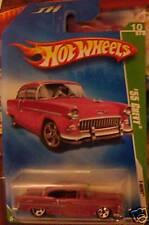 2009 Hot Wheels Treasure Hunt 55 Chevy 10/12 #10 New